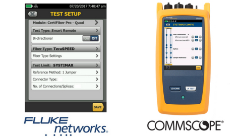CommScope partners with Fluke Networks to simplify certification of high performance data center net ...