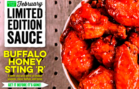 Quaker Steak & Lube® Satisfying Cravings All Year with New Monthly Flavors (Photo Business Wire).
