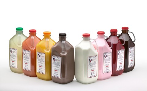 Pi Labs is a plastics technology implementation company that licenses its patented BottleOne™ integral PET handle technology to PET container manufacturers to revolutionize  how  milk, juices, tea, oils, detergents, liquid cleaners, sauces and more are packaged and shipped. (Photo: Business Wire)