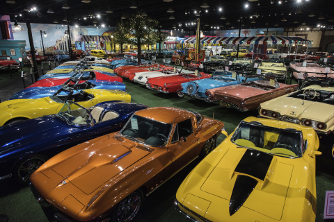 Barrett-Jackson is set to auction the prized John Staluppi Cars of Dreams Collection during the 16th Annual Palm Beach Auction April 12-15, 2018, at the South Florida Fairgrounds. (Photo: Business Wire)