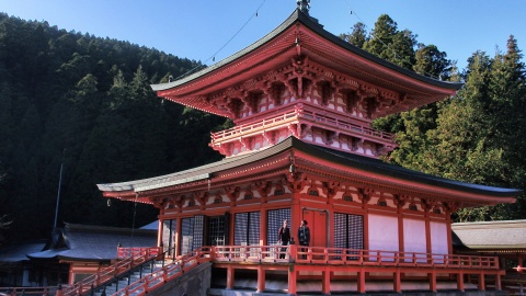 Ancient Buddhist practices live on unchanged at Enryakuji Temple, nestled on Mount Hiei in Shiga Prefecture (Photo: Business Wire)