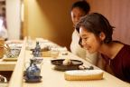 """""""Edo-style"""" sushi in Tokyo's upscale Ginza district, near the famed fish market, is prepared just like in days of old (Photo: Business Wire)"""