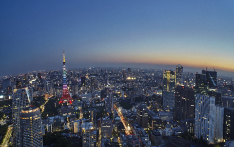 From high atop the Roppongi Hills skyscraper, stunning views of Tokyo and even Mt. Fuji, are on call night and day (Photo: Business Wire)