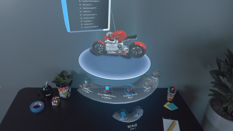 Meta announces new augmented reality integration with SOLIDWORKS. Partnership will empower SOLIDWORKS and Meta customers to view their 3D CAD models in immersive AR for the first time. (Photo: Business Wire)