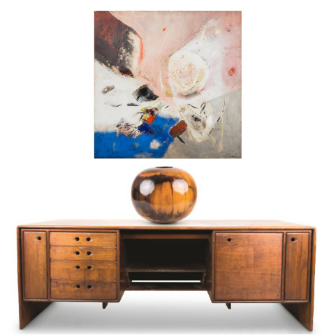 Abell Auction Company's Feb. 11 fine art, jewelry and antique sale will feature items from the estate of prominent L.A. activists Stanley and Betty Warner Sheinbaum, who was the daughter of Warner Bros. studio executive Henry Warner (Photo: Business Wire)