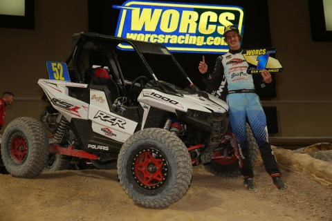 Factory RZR Driver Ronnie Anderson Validates Polaris' New Single Seal Race-Inspired RZR RS1 with Dom ...
