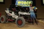 Factory RZR Driver Ronnie Anderson Validates Polaris' New Single Seal Race-Inspired RZR RS1 with Dominating Victories at the WORCS season opener at Orleans Arena in Las Vegas on Saturday, February 3. Ronnie's RZR RS1 was only upgraded to meet racing safety requirements. (Photo: Polaris)
