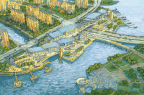 Zizhu Purple Bay Waterfront Retail and Entertainment District; credit Lockard Creative