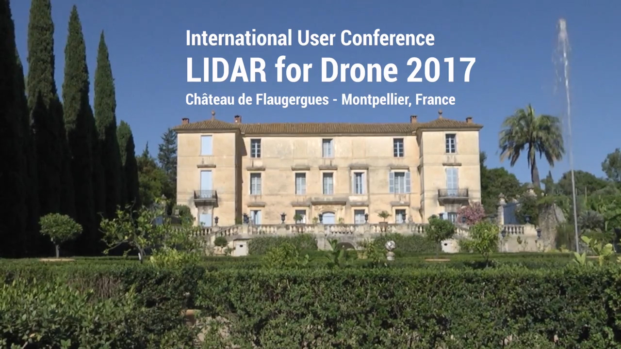 LiDAR for Drone 2017 - YellowScan International User Conference - Powerlines Use case with Hemav - Spain
