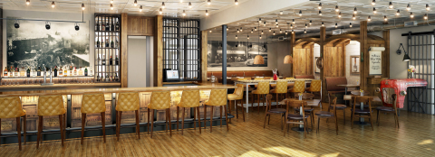 Western Front Hotel, which opens February 12 in St. Paul, Virginia, features Milton's, a restaurant serving farm-to-table Appalachian-style meals. (Photo: Business Wire)