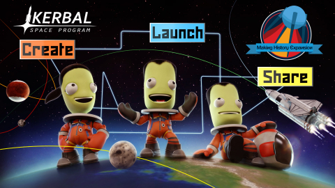 Private Division and Squad today announced that Kerbal Space Program: Making History Expansion will be available for PC on March 13, 2018. Kerbal Space Program: Making History Expansion adds a wealth of new and exciting content to the game, including a robust Mission Builder for players to create and share their own scenarios, a History Pack containing missions inspired by historical moments in space exploration, and more. (Photo: Business Wire)