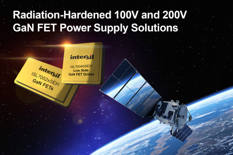 Radiation-hardened 100V and 200V GaN FET Power Supply Solutions (Graphic: Business Wire)