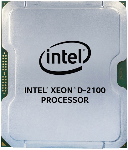 Intel introduced in February 2018 the new Intel® Xeon® D-2100 processor, a system-on-chip processor architected to address the needs of edge applications and other data center or network applications. (Credit: Intel Corporation)