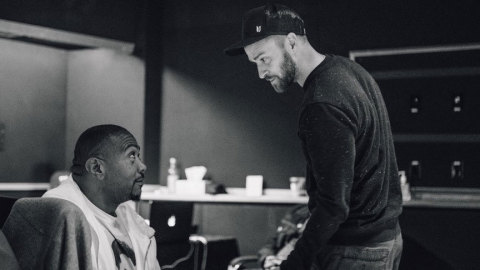 From L-R: ole songwriter, Timbaland; Justin Timberlake (Photo: Business Wire)