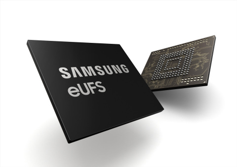 Samsung 256GB Automotive eUFS (embedded Universal Flash Storage) (Photo: Business Wire)