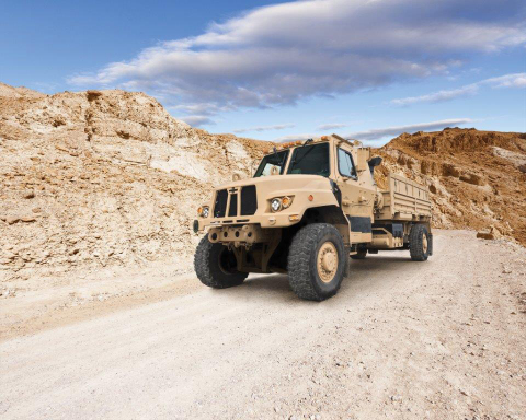 Oshkosh's FMTV A2 vehicle design addresses the U.S. Army's need for increased payload and improved s ...