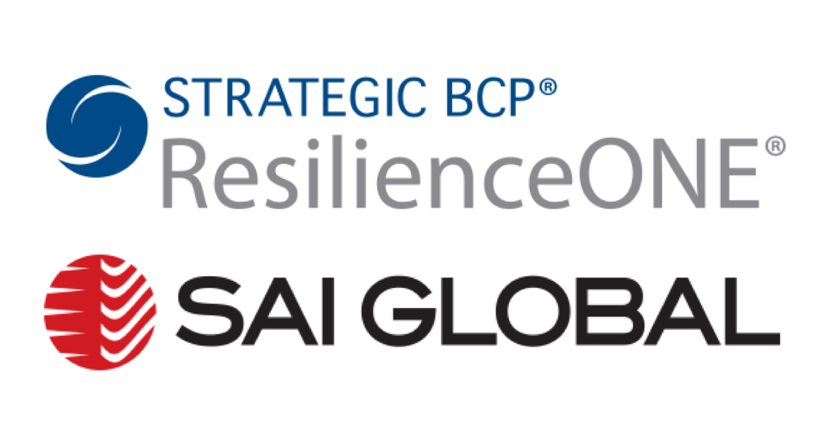 SAI Global and Strategic BCP ResilienceONE Deliver Market-Leading