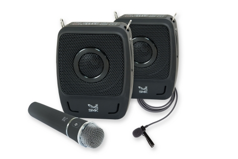 New GoSpeak! Duet Ultra-Portable Personal PA System (Photo: Business Wire)