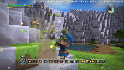 Dragon Quest Builders will be available on Feb. 9. (Graphic: Business Wire)