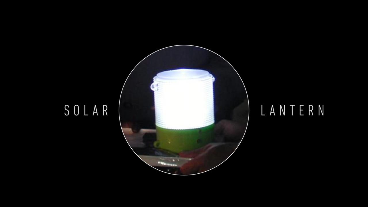 Panasonic 100 Thousand Solar Lanterns Project (2013-2018)