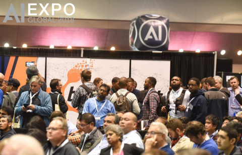 The AI Expo in full swing. (Photo: Business Wire)