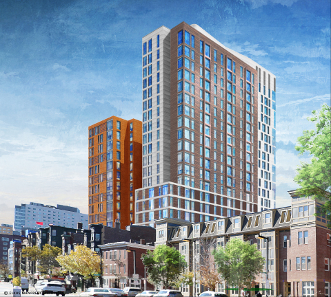Boston's new, modern student community, set to deliver in Fall 2019. (Photo: Business Wire)