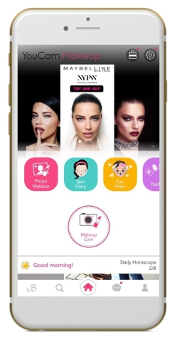 YouCam & Maybelline New York Announce Exclusive New York Fashion Week AR Beauty Experience (Photo: Business Wire)