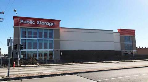 Public Storage at 16100 S Avalon Blvd. Carson, CA 90746 opened February 8 to serve one of the growing and diversifying neighborhoods in Los Angeles' South Bay communities. (Photo: Business Wire)