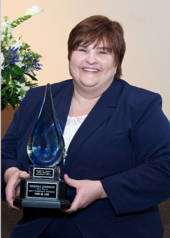 Nerissa Johnson named Food Lion's 2017 Store Manager of the Year; three other store managers also recognized for outstanding leadership (Photo: Business Wire)