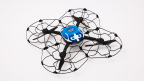 The Intel Shooting Star drone is the first-ever drone created for entertainment light shows. Intel Shooting Star drones are equipped with LED lights that can create more than 4 billion color combinations and can be programmed to create almost any dazzling animation in the sky. (Credit: Intel Corporation)
