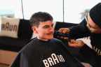 German ski jumper Richard Freitag enjoys a fresh new look courtesy of Braun at the P&G Family Home just in time for the Opening Ceremony of the Olympic Winter Games PyeongChang 2018. (Photo: Business Wire)