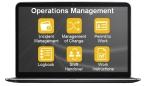 Operations Managementの機能。Operational Excellenceを実現するOperational Risk Managementのためのソリューション(画像:横河電機株式会社)