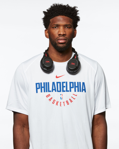 NBA All-Star Joel Embiid Becomes Official Gaming Headset Ambassador for HyperX. (Photo: Business Wir ...