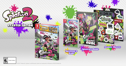On March 16, the Splatoon 2 Starter Edition will launch in stores. (Photo: Business Wire)