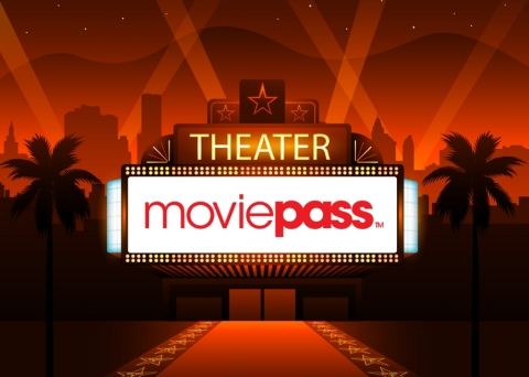MoviePass(TM) finalizes partnerships for revenue sharing programs (Photo: Business Wire)