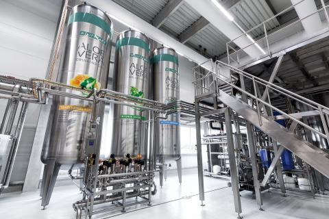 LR Health & Beauty: Europe´s most modern Aloe vera production facility. Photo: LR Health & Beauty