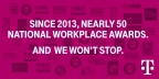 For the tenth year in a row, T-Mobile is being recognized by the Ethisphere Institute, a global leader in defining and advancing the standards of ethical business practices, as one of the 2018 World's Most Ethical Companies. (Graphic: Business Wire)