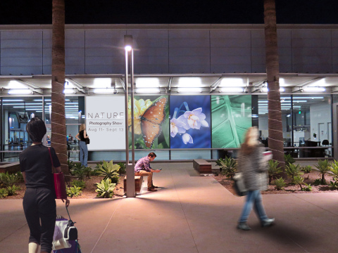 High-impact digital and printed advertising program reaches business and leisure travelers at Long Beach Airport. (Photo: Business Wire)