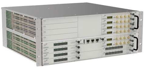 The CommScope Era's innovative Wide-area Integration Node resides in a service provider's C-RAN hub and routes baseband capacity to a distribution point within a building or campus. (Photo: Business Wire)