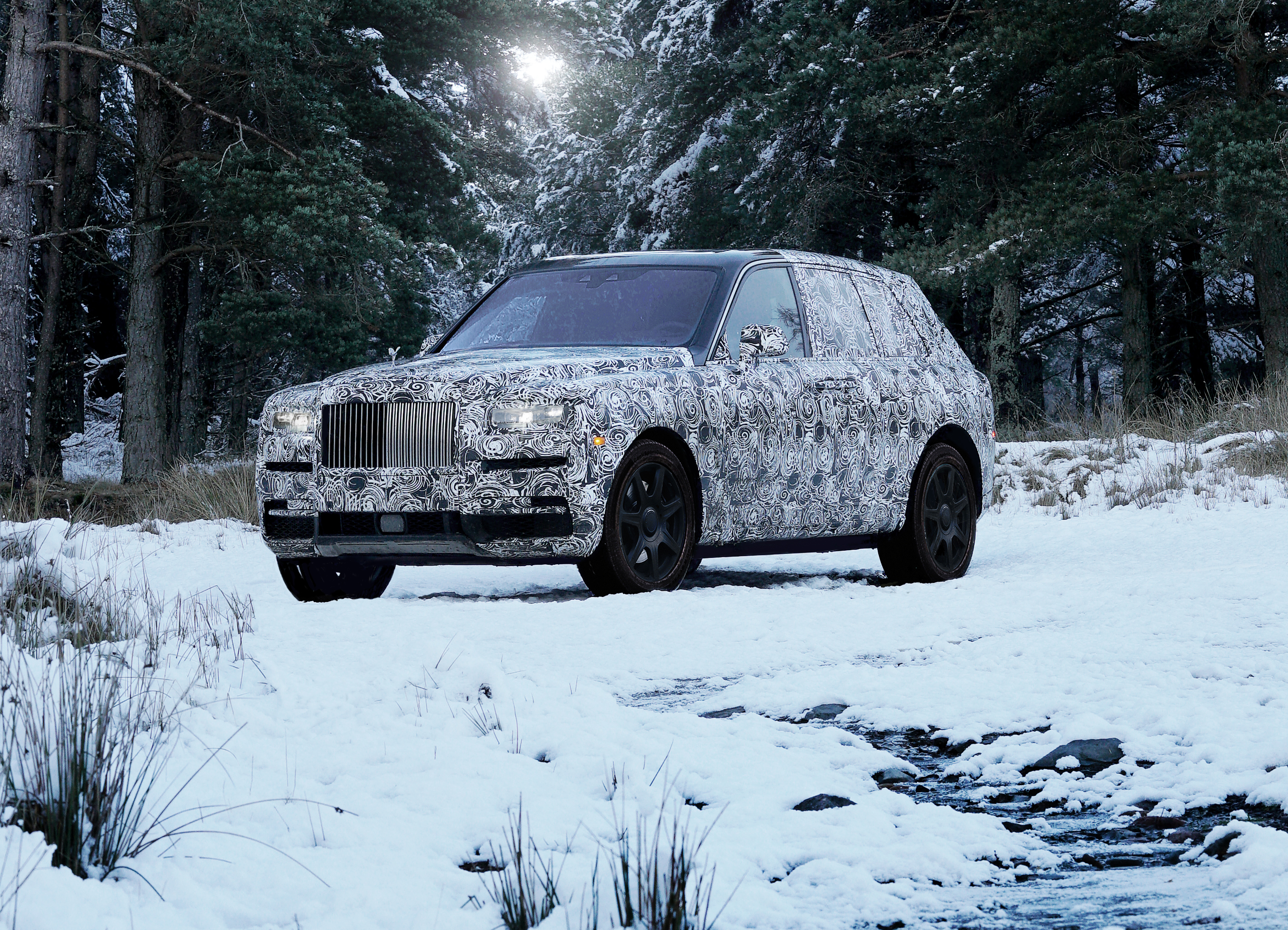 Name of New High-Sided Vehicle to Be Rolls-Royce Cullinan | Business ...