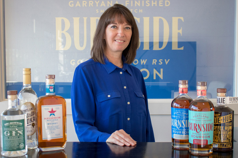 Kim Davis joins Eastside Distilling as the company's Controller. Ms. Davis was most recently the Chief Financial Officer of the Oregon Liquor Control Commission (OLCC), the state agency responsible for regulating the sale and service of alcoholic beverages in Oregon. (Photo: Business Wire)