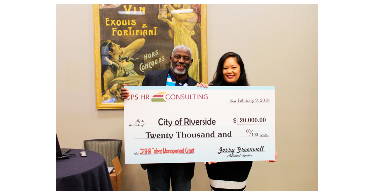 CPS HR Consulting Awards $20K Talent Management Innovation