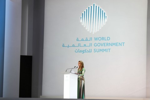 HRH Princess Haya bint Al Hussein, Chairperson of the International Humanitarian City (Photo: AETOSWire)
