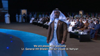 During the speech of His Highness Sheikh Saif bin Zayed Al Nahyan at the World Government Summit 2018 (Video: AETOSWire)