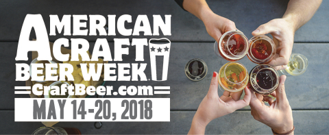 Let Freedom Ring During American Craft Beer Week®, May 14 - 20, 2018. (Graphic: Business Wire)