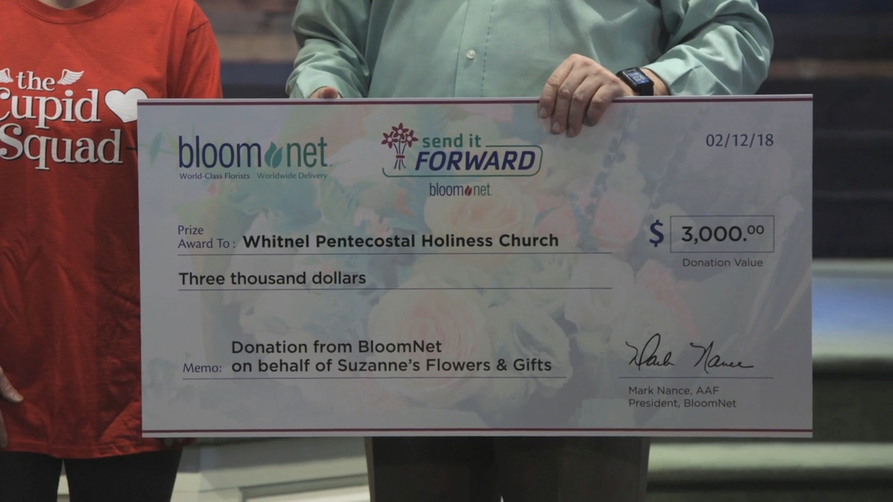 Suzanne's Flowers & Gifts wins a $3,000 donation to local charity