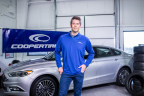 """This Valentine's Day, ABC's """"The Bachelor"""" and Cooper safety spokesman Arie Luyendyk, Jr. is teaming with Cooper Tire's Tread Wisely program, a tire and vehicle safety campaign for teens and young adults, to encourage young drivers to learn how to properly care for their tires. (Photo: Business Wire)"""