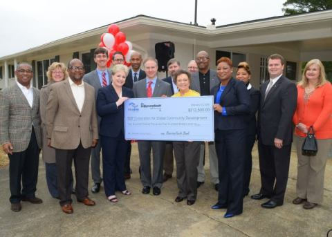 BancorpSouth Bank, Trustmark National Bank and FHLB Dallas partnered to award more than $232,000 in  ...