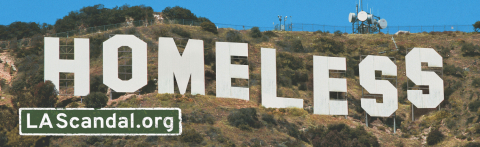 New 'Homeless' billboards in Los Angeles echo iconic 'Hollywood' sign, cut to the heart of the crisis in L.A. and also expose bureaucrats' lax response (Graphic: Business Wire)