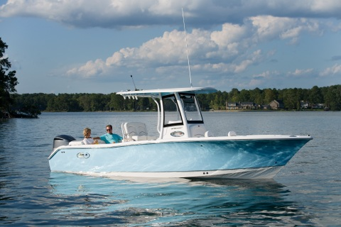 Sea Hunt Boat Company, one of the top-selling saltwater boat brands in the country, has selected Garmin to be an electronics supplier to outfit its full line of center console boats ranging from 18-30 feet. (Photo: Business Wire)